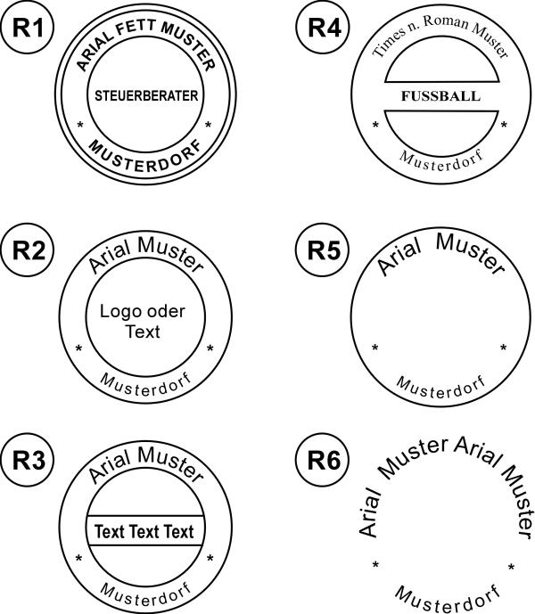 trodat colop stempel fachbetrieb stempelgoebel stempelmuster aus mehreren vorlagen ausw hlen. Black Bedroom Furniture Sets. Home Design Ideas